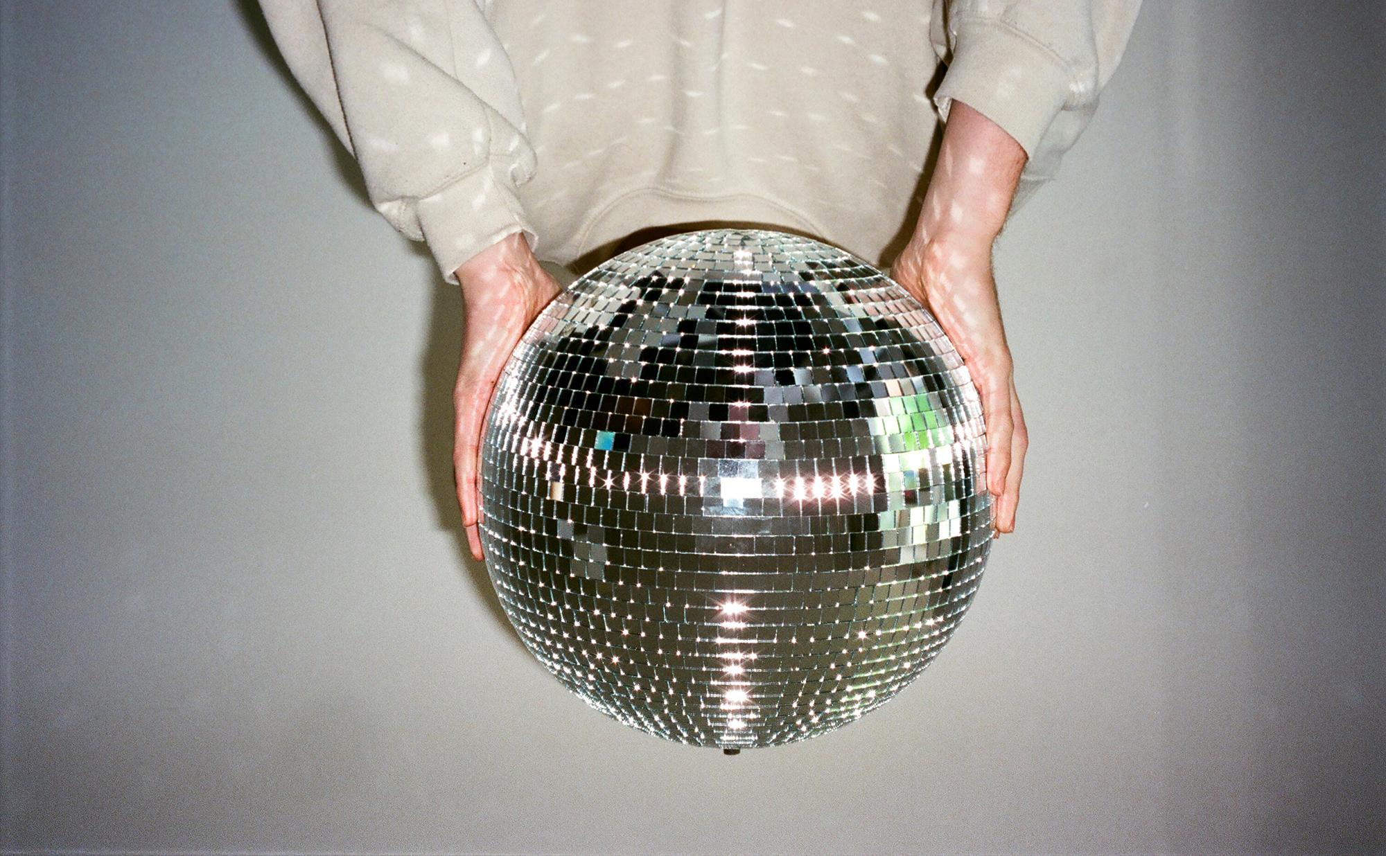 Alley disco ball web